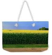 Golden Waves Of Grain Weekender Tote Bag