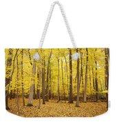 Golden Woods Weekender Tote Bag