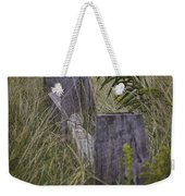 Goldenrod By The Fence Weekender Tote Bag