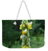 Goldenrod Crab Spider In Yellow Weekender Tote Bag