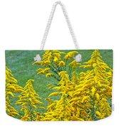 Goldenrod Flowers Weekender Tote Bag