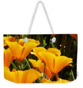 Golden Poppies Weekender Tote Bag