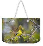 Goldfinch In Spring Weekender Tote Bag