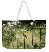 Goldfinch On The Lookout -19 Weekender Tote Bag