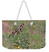Goldfinches Weekender Tote Bag