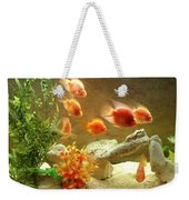 Goldfish At The Chinese Restaurant  Weekender Tote Bag