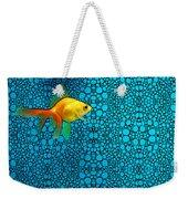 Goldfish Study 3 - Stone Rock'd Art By Sharon Cummings Weekender Tote Bag