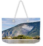 Goldrush Town Dawson City From Yukon River Canada Weekender Tote Bag