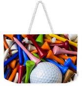 Golf Ball And Tees Weekender Tote Bag