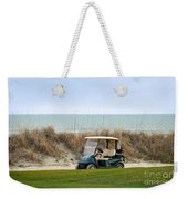 Golf Cart At Kiawah Island Golf Course Weekender Tote Bag