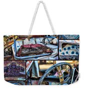 Golf Cart Collage Weekender Tote Bag