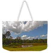 Golf Course Landscape Weekender Tote Bag