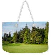 Golf Course Weekender Tote Bag