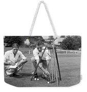 Golf Green Experiments Weekender Tote Bag