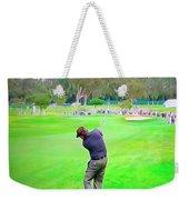 Golf Swing Drive Weekender Tote Bag