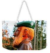 Golfer Profile Weekender Tote Bag