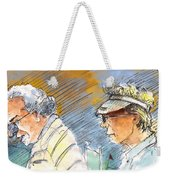 Golfers In Soufflenheim 02 Weekender Tote Bag