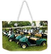 Golfers Take Your Pick Weekender Tote Bag
