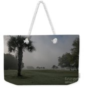 Golfing In The Fog Weekender Tote Bag