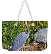 Goliath Heron By Water Weekender Tote Bag