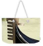 Gondola Metal Bow Decoration Venice Italy Weekender Tote Bag