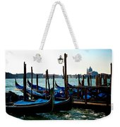 Gondolas At Rest Weekender Tote Bag