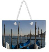 Gondolas In The Bacino Di San Marco Weekender Tote Bag
