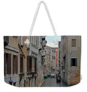 Gondolas On Backstreet Canal Weekender Tote Bag