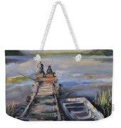 Gone Fishin' Weekender Tote Bag