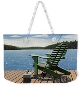 Gone Fishing Aka Fishing Chair Weekender Tote Bag