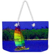 Gone For A Sail Weekender Tote Bag