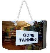 Gone Tanning Weekender Tote Bag