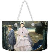 Gonzales' Nanny And Child Weekender Tote Bag