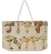Good And Bad Mushrooms Weekender Tote Bag