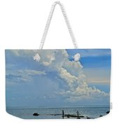 Good Day For Fishing Weekender Tote Bag