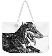Good Dog Weekender Tote Bag by Michael Volpicelli
