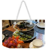 Good Eats In A Lovely Setting Weekender Tote Bag