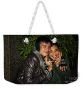 Good Friends Weekender Tote Bag