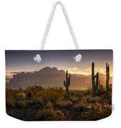 Good Morning Arizona Weekender Tote Bag