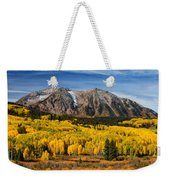 Good Morning Colorado Weekender Tote Bag