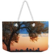 Good Morning Denver Weekender Tote Bag by Darren  White
