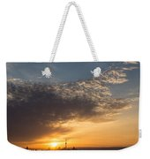 Good Morning Toronto With A Glorious Sunrise Weekender Tote Bag