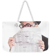 Good News Weekender Tote Bag by Edward Fielding