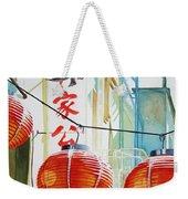 Good News In Chinatown Weekender Tote Bag