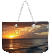 Good Night Sanibel Island Weekender Tote Bag