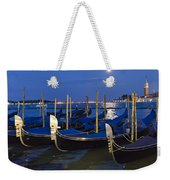 Good Night Venice Weekender Tote Bag