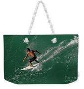 Good Waves Good Body Weekender Tote Bag