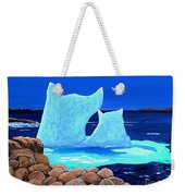 Goodbye Greenland Weekender Tote Bag