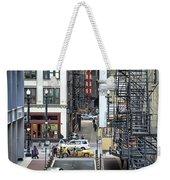 Goodman Chicago Weekender Tote Bag by Scott Norris