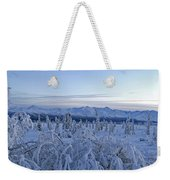 Goodnight Chugach Weekender Tote Bag